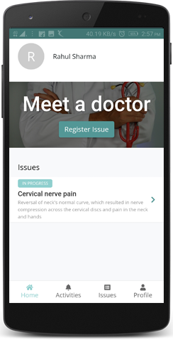 Schedule a meeting & meet our cardiologists on mHospitals mobile app