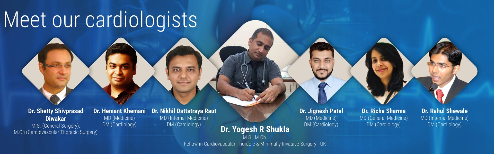 Meet our cardiologists | mHospitals